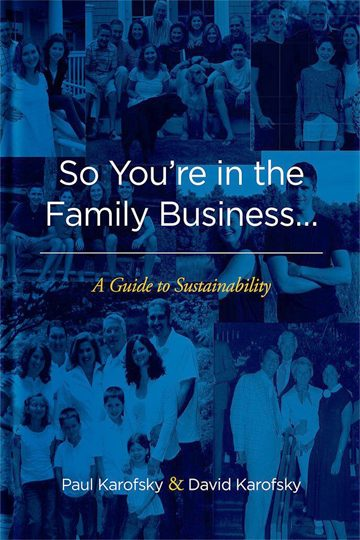 So You're in the Family Business…: A Guide to Sustainability